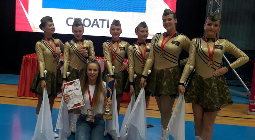 Kloštranske mažoretkinje prvakinje Europe