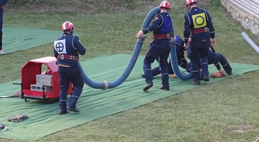 FOTO: Vrhunac vatrogasnog natjecanja u Mariji Magdaleni bilo je povlačenje užeta
