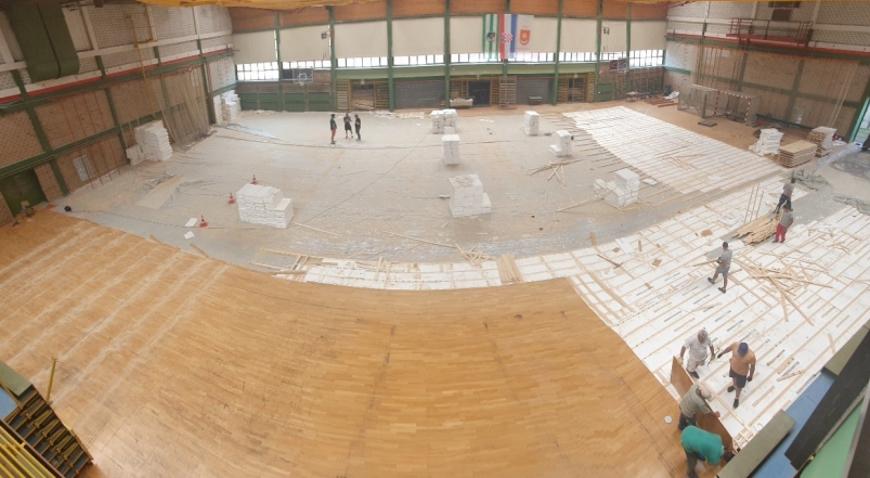 Zelinska sportska dvorana dobiva novu parketnu podlogu