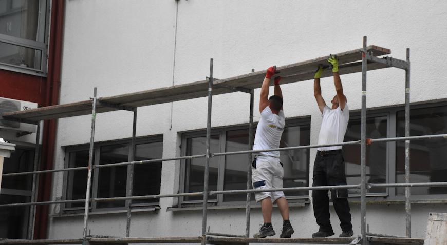 SKELE NA OŠ VUKOVINA – Krenula energetska obnova škole