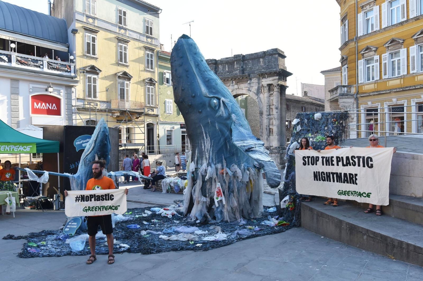 VIDEO: Greenpeaceova turneja protiv plastike nastavila se u Puli