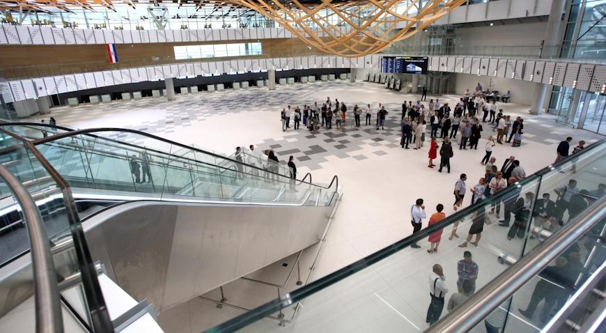 Otvoren rekonstruirani i obnovljeni terminal Zračne luke Split