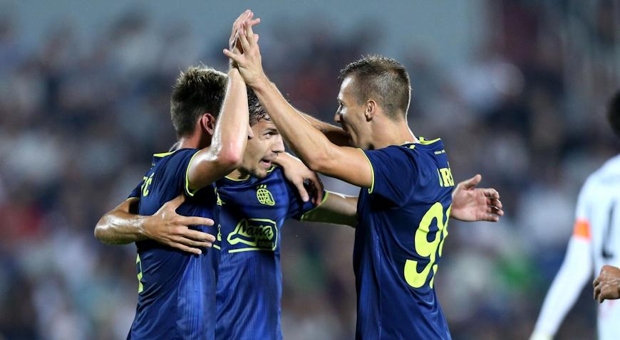 Dinamo s dva gola prednosti iz Tbilisija
