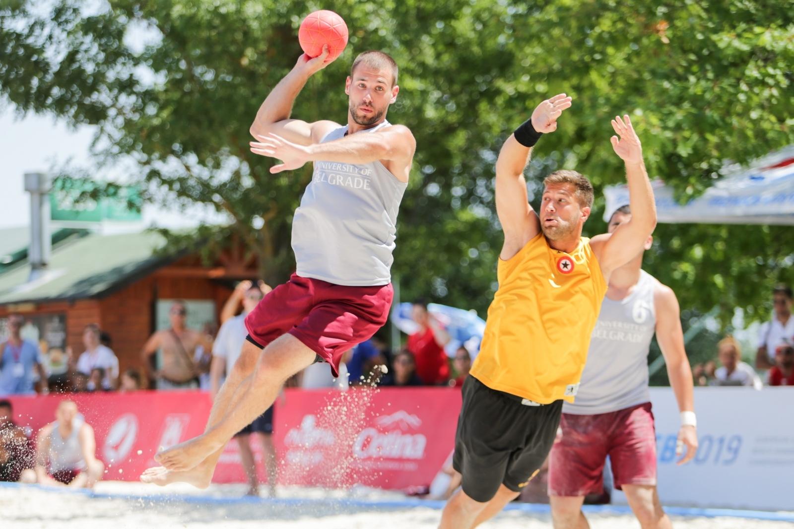 Na Jarunu otvoreno Europsko sveučilišno prvenstvo u rukometu na pijesku