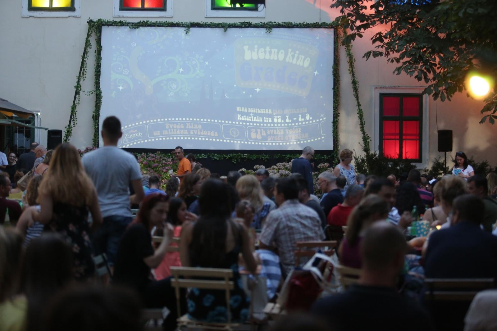 Tvoje kino uz milijun zvijezda – krenula nova sezona Ljetnog kina Gradec