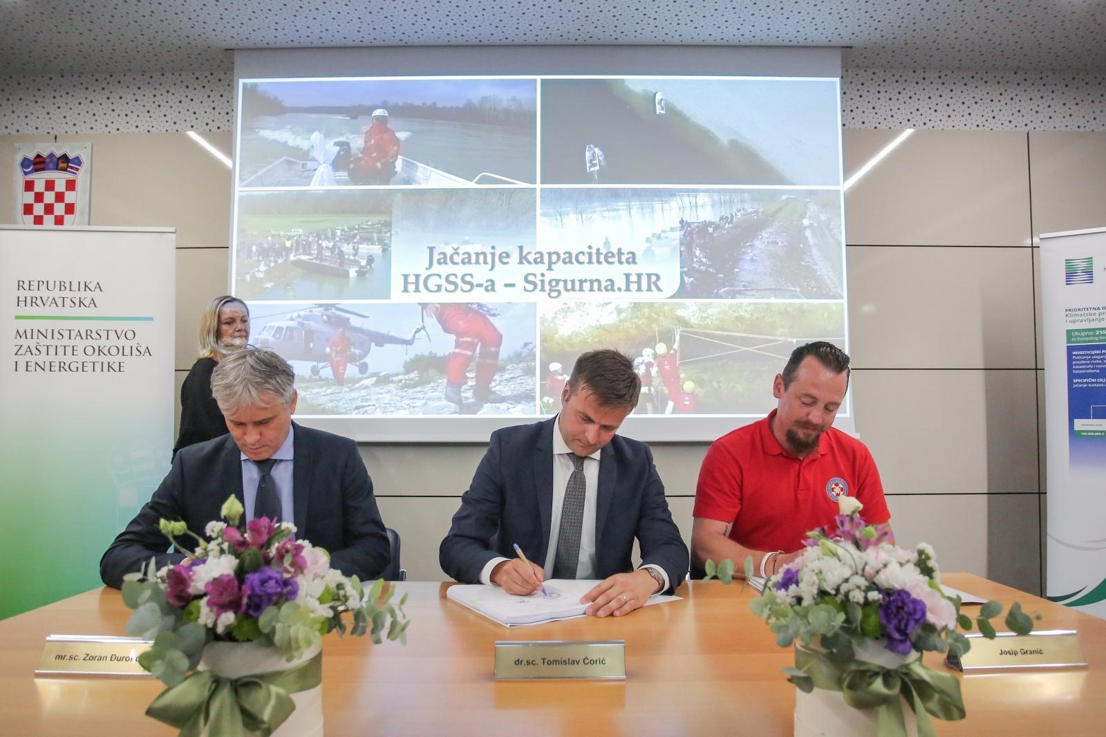 HGSS-u dodijeljeno 30 milijuna kuna za jačanje kapaciteta
