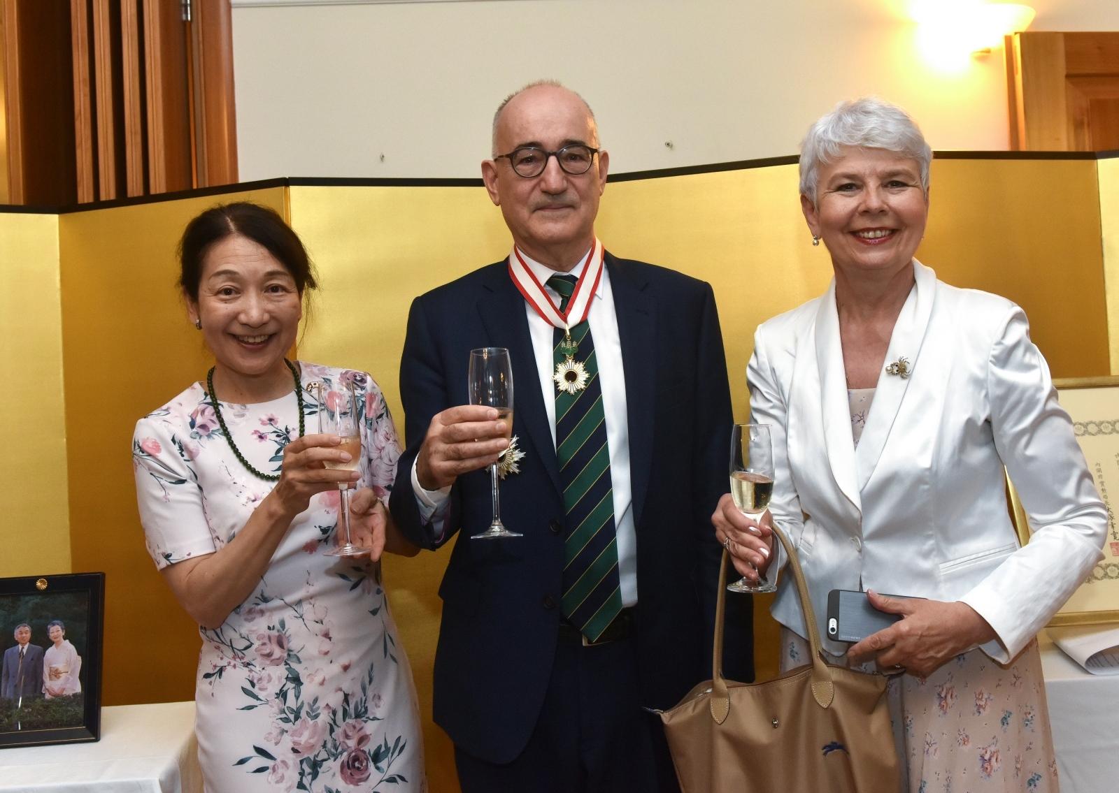 Drago Štambuk primio Orden izlazećeg sunca za promicanje japanske kulture u svijetu