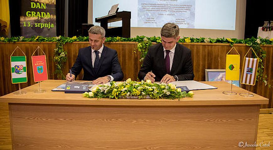 Općina Krašić potpisala Povelju prijateljstva s Gradom Otokom