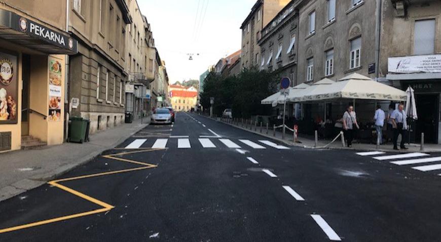 Vinogradskom ulicom ponovno moguće prometovanje