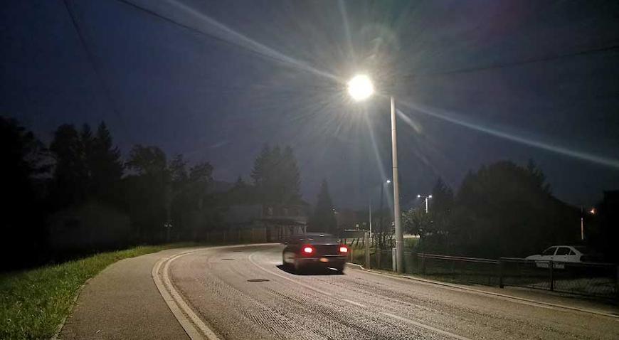 Nova LED rasvjeta u Bistri uvelike doprinosi vidljivosti i sigurnosti noćnog prometa