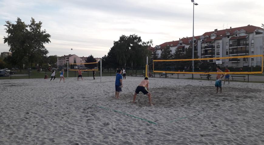 Velika Gorica dobila dva terena za odbojku na pijesku