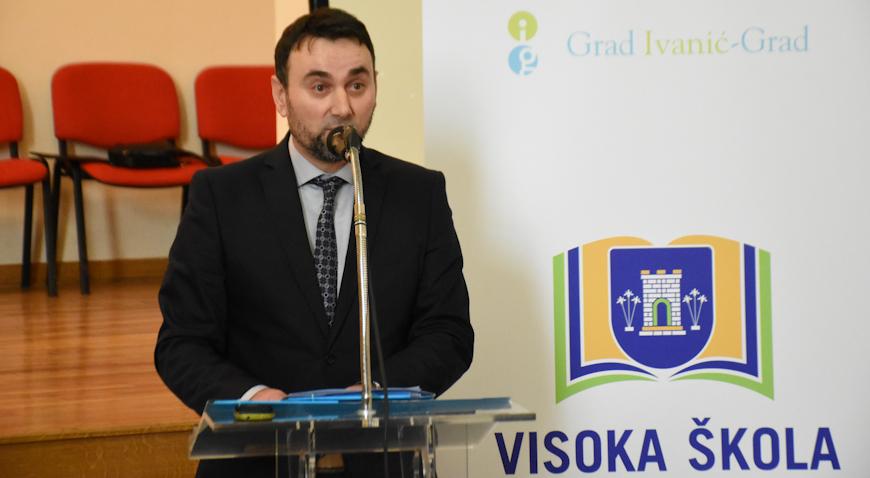 """Mile Marinčić: Visoka škola bez obzira na svoju """"mladost"""" radi dobar posao"""