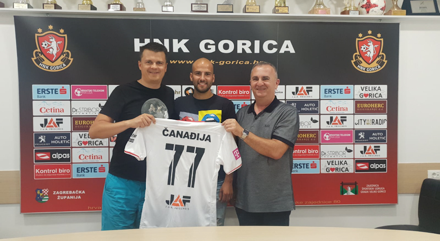 Dario Čanađija dres Slaven Belupa zamijenio onim HNK Gorice