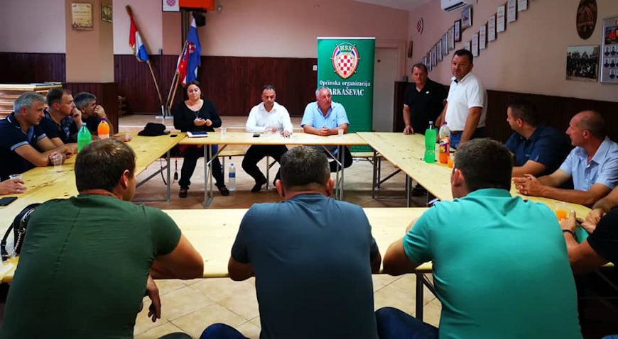 Održan sastanak HSS-a o poljoprivredi Farkaševca, Gradeca i Preseke