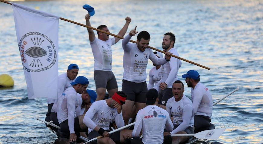 FOTO: Gusari iz Komina pobjednici Maratona lađa