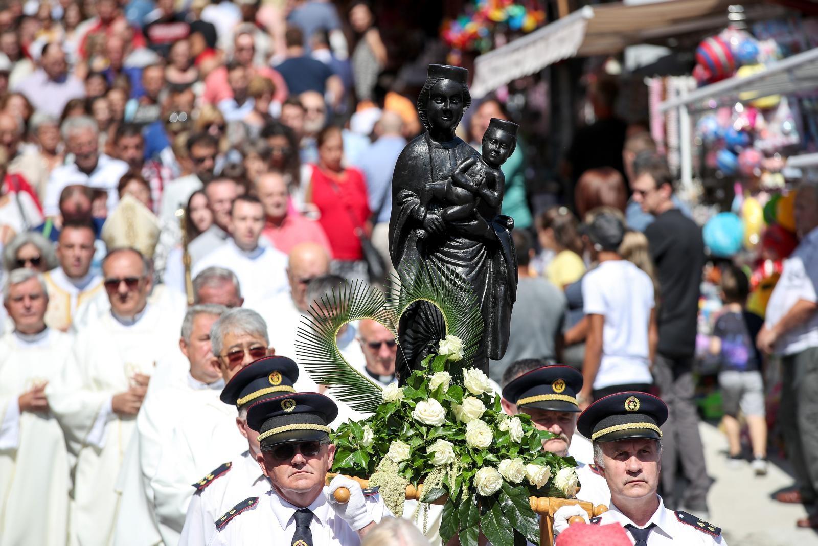 VIDEO: Blagdan Velike Gospe obilježen i u svetištu Majke Božje Bistričke