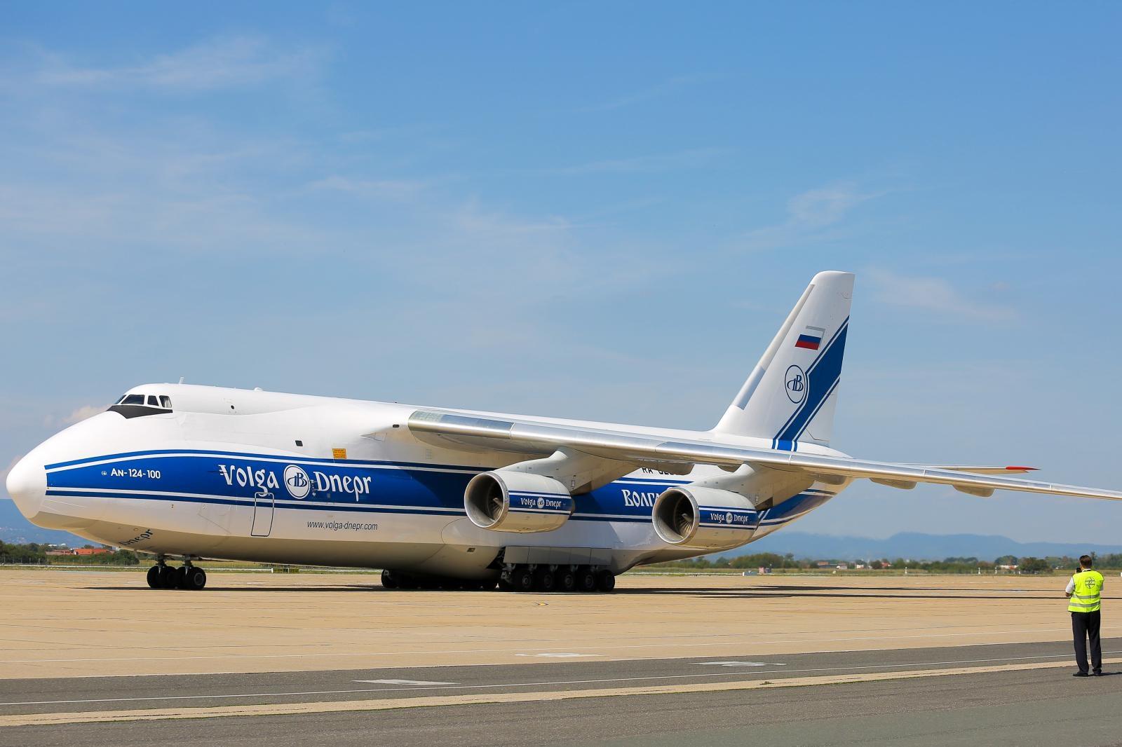 VIDEO: Na Pleso sletio jedan od najvećih zrakoplova na svijetu