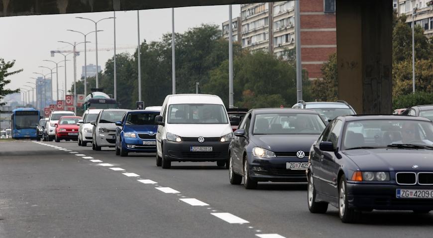 U promet pušten nadvožnjak iznad Avenije Marina Držića