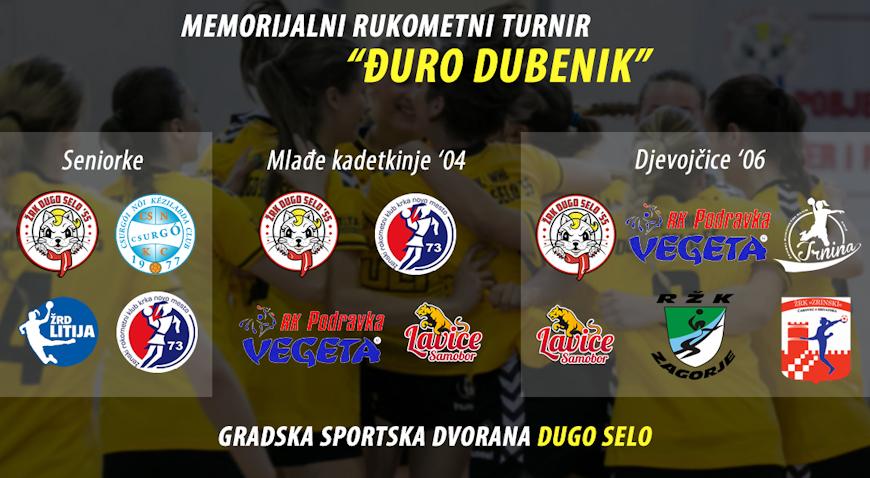 U nedjelju memorijalni rukometni turnir Đuro Dubenik