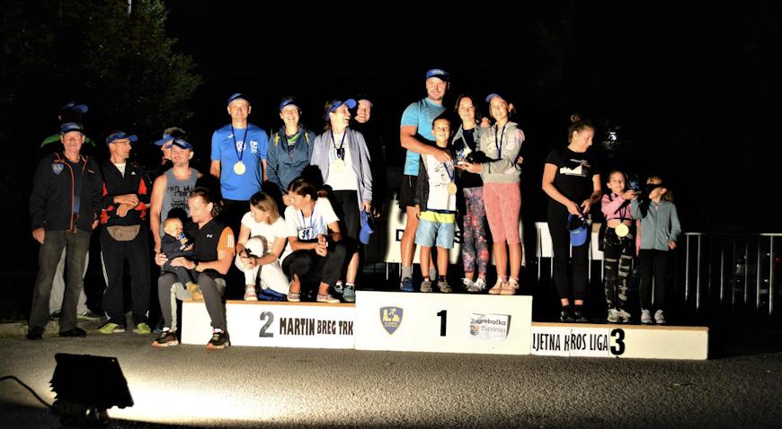 FOTO: Završila Martin Breg liga koja je okupila sedamdesetak trkača