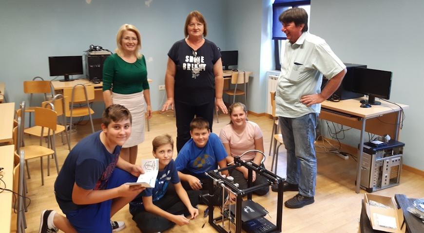 3D printer za učenike osmogodišnje škole u Rakovcu