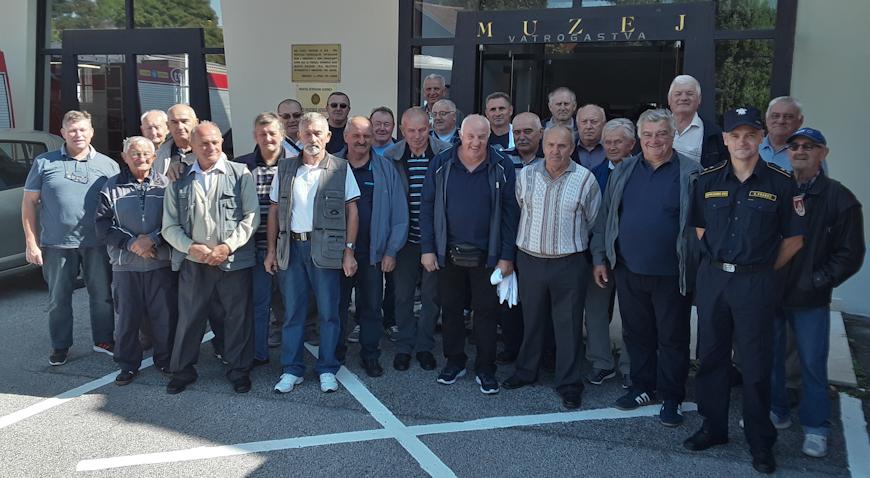 Vatrogasni veterani VZO-a Rugvica posjetili Varaždin