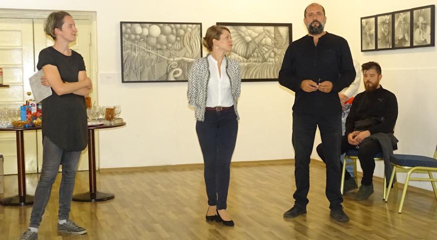 Dubravko Sertić otvorio jesensku sezonu u Galeriji Razvid