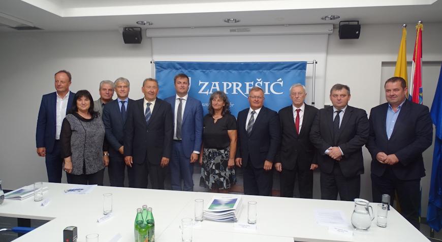 """FOTO: Kreće realizacija projekta """"Aglomeracija Zaprešić"""" vrijednog 550 milijuna kuna"""