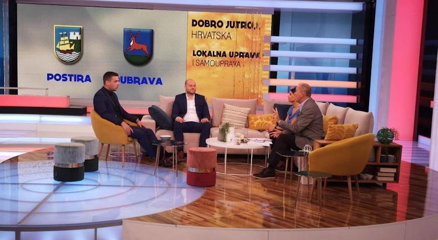 Tomislav Okroša u Dobro jutro, Hrvatska prezentirao rezultate svoga rada: Maksimalno iskorištavamo EU fondove