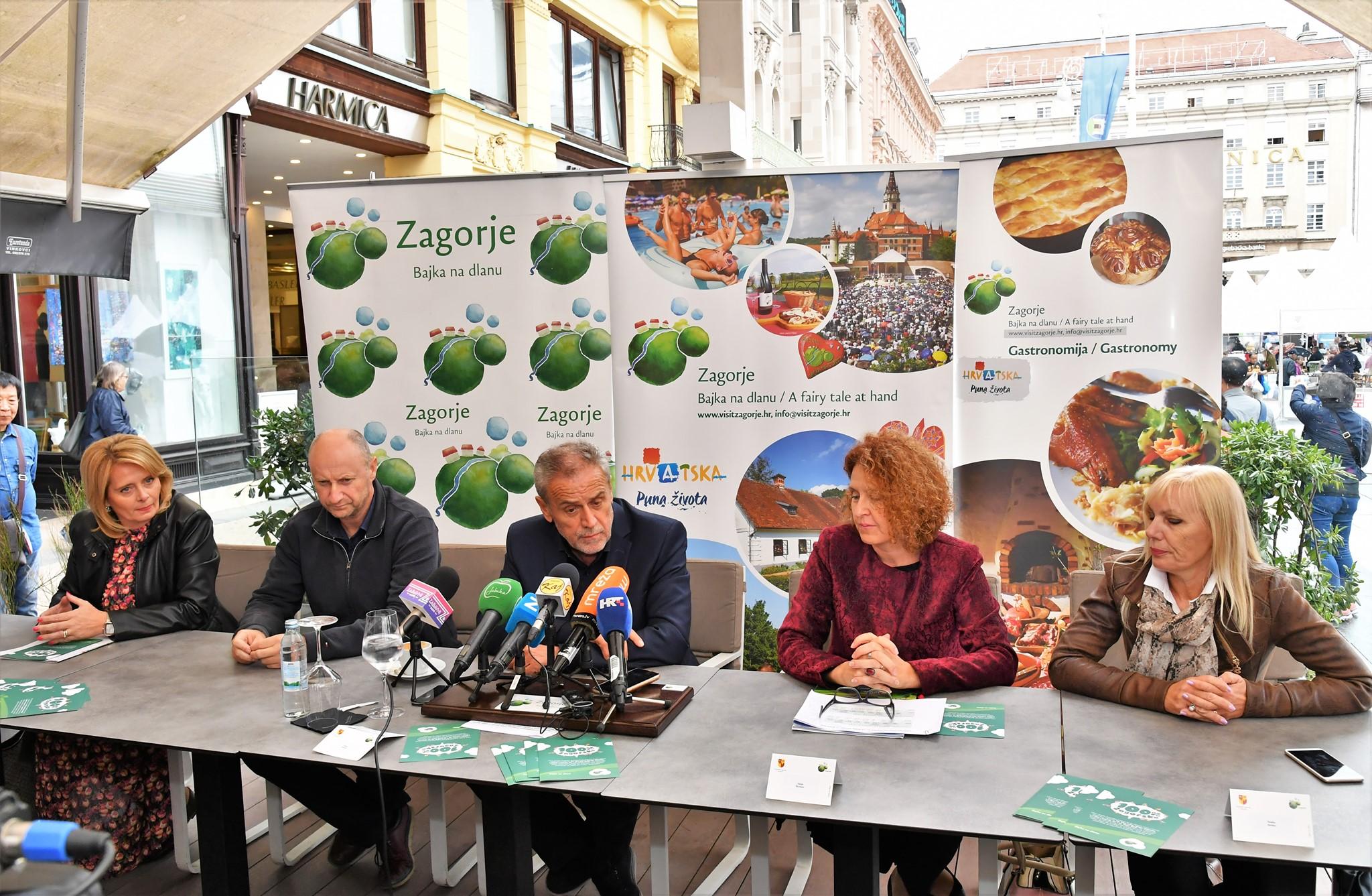 100% Zagorsko na glavnom zagrebačkom trgu