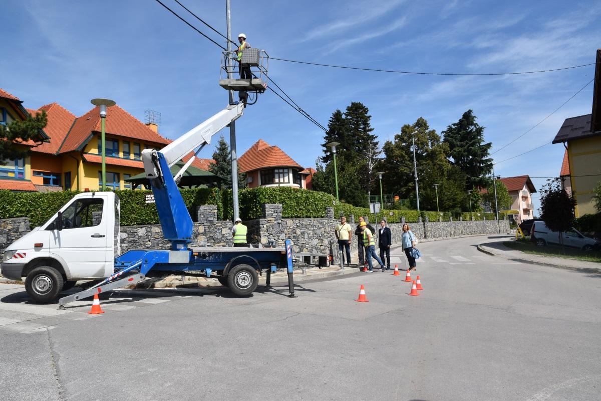 """Projekt """"NEWLIGHT"""" – započela modernizacija sustava javne rasvjete na području Svetog Ivana Zeline"""