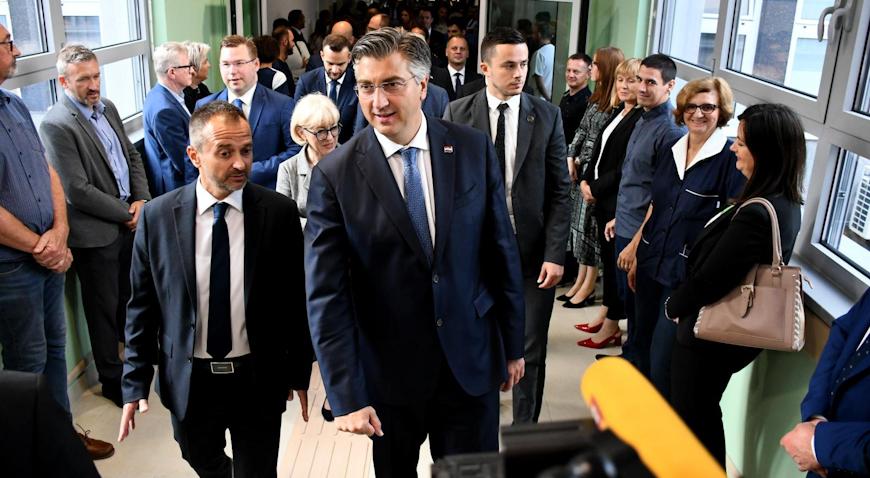 Premijer Andrej Plenković otvorio novo krilo Opće bolnice Virovitica