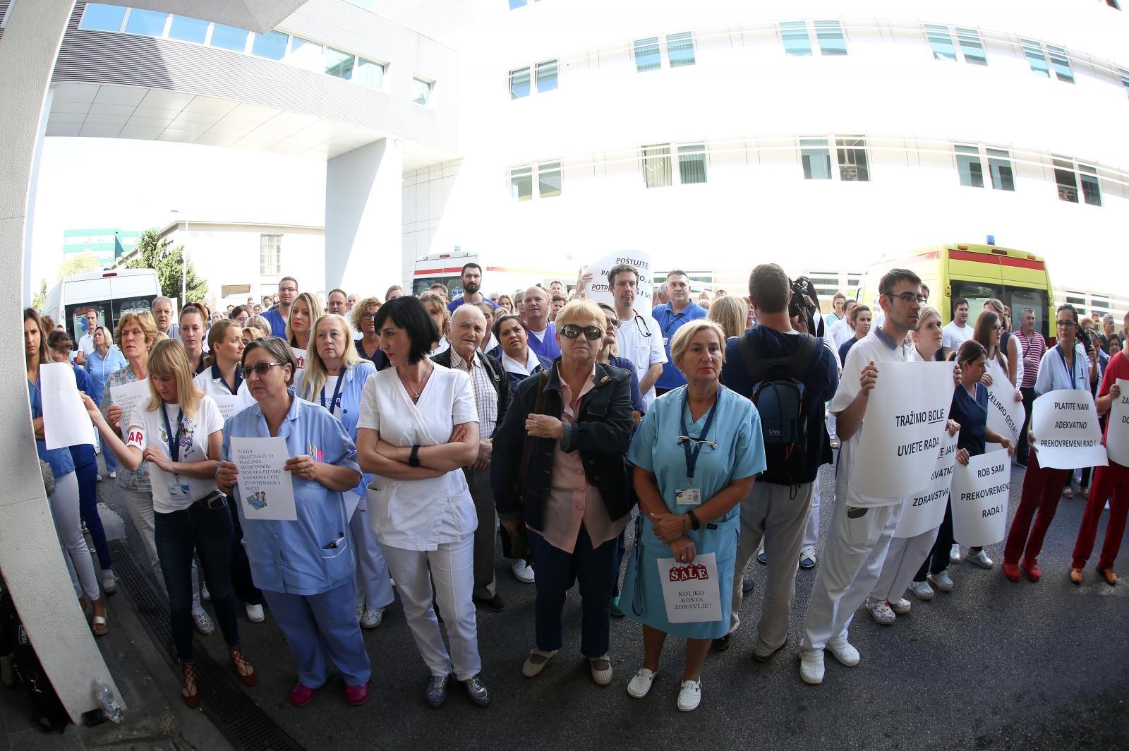 VIDEO: Zdravstveni sindikati odaslali upozorenje – ako se ne postigne kompromis, štrajk je neizbježan