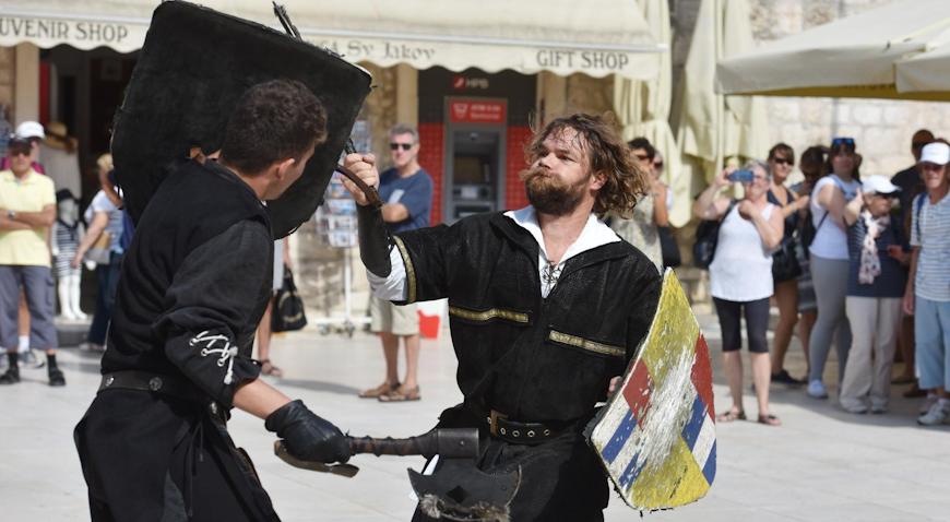 VIDEO: Veliko finale ovogodišnjeg Srednjovjekovnog sajma u Šibeniku