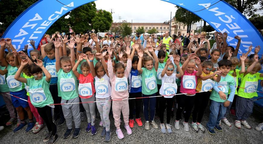 """Preko 400 mališana sudjelovalo na UNICEF-ovoj """"Mliječnoj stazi"""""""