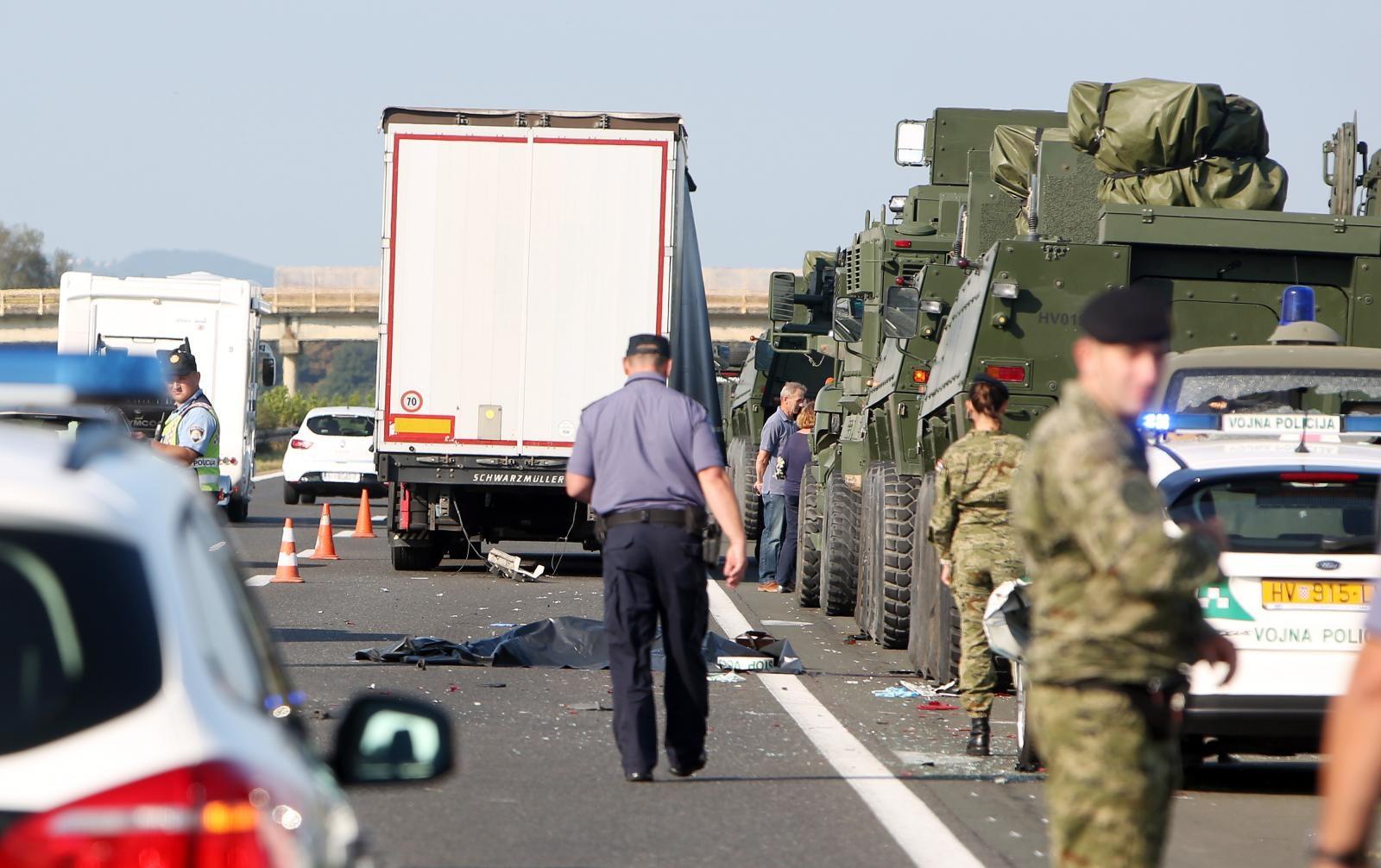 TRAGEDIJA NA A1 – Kamion usmrtio vojnika na službenoj zadaći