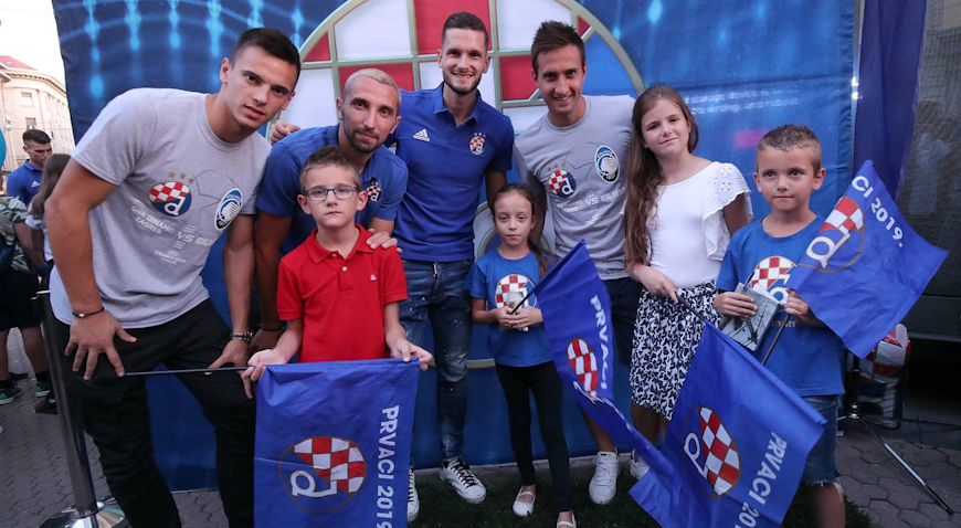 VIDEO/FOTO: Zagreb u iščekivanju Lige prvaka i utakmice protiv Atalante