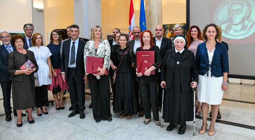 Vladimiru Ukrainčiku posthumno dodijeljena Nagrada Vicko Andrić za životno djelo