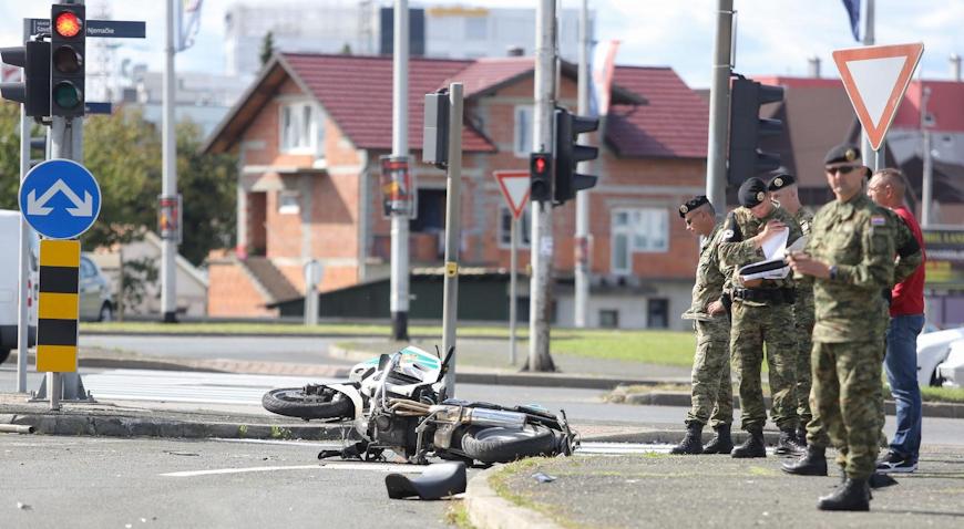 U teškoj prometnoj nesreći u Zagrebu smrtno stradao pripadnik Pukovnije vojne policije