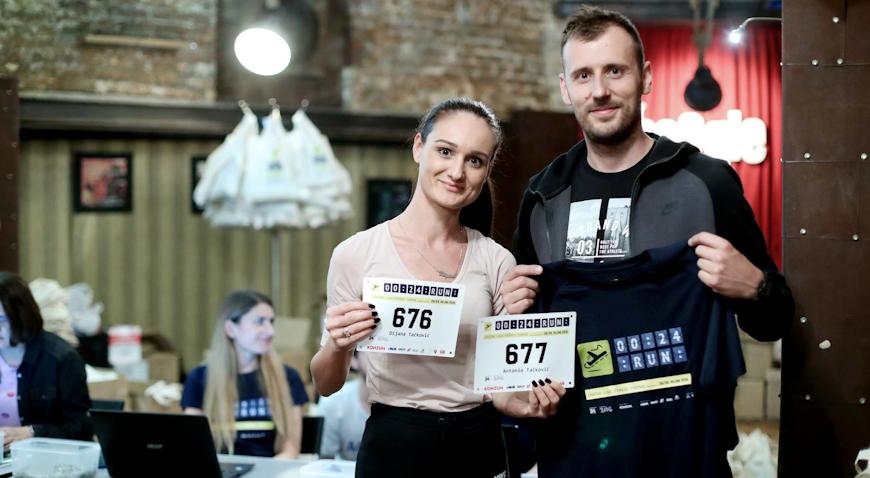 PO PRVI PUTA U HRVATSKOJ – 1173 trkača trčat će pistom Zračne luke Franjo Tuđman