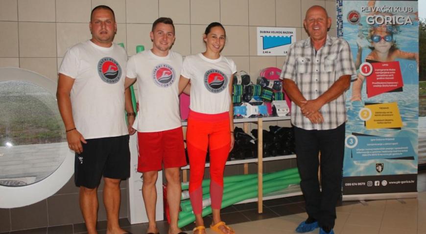 Plivački klub Gorica dobio vrijednu donaciju od Zajednice športskih udruga