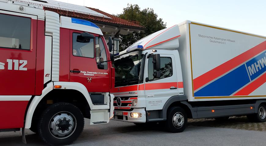 Vatrogasci Gornje Bavarske i Ambulanz Rosenheim e.V pomažu kolegama u Leprovici