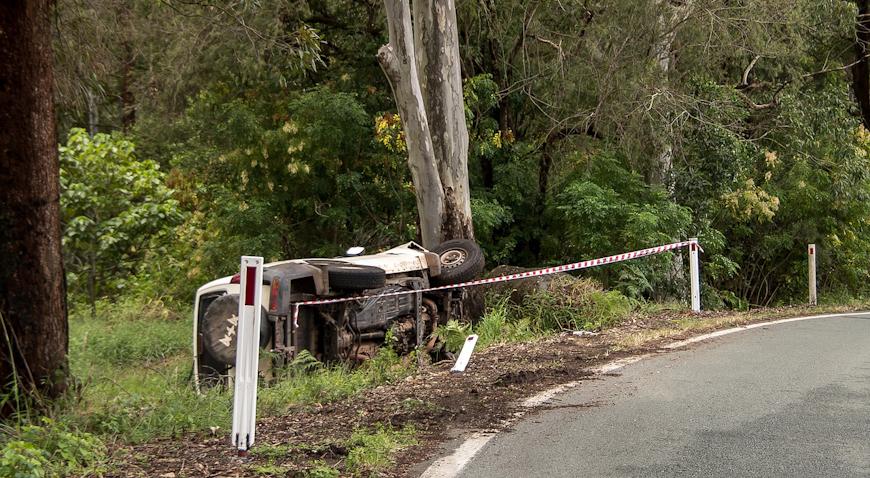 NESREĆA U BLIZINI BUKEVJA – Teretnim automobilom sletio u kanal, ozlijeđene dvije osobe