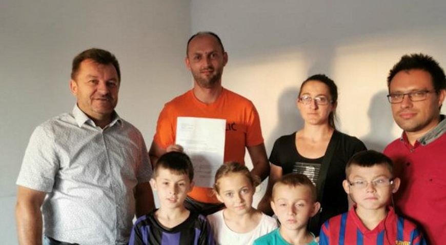 Obitelj Slunjski dobila privremeni stan