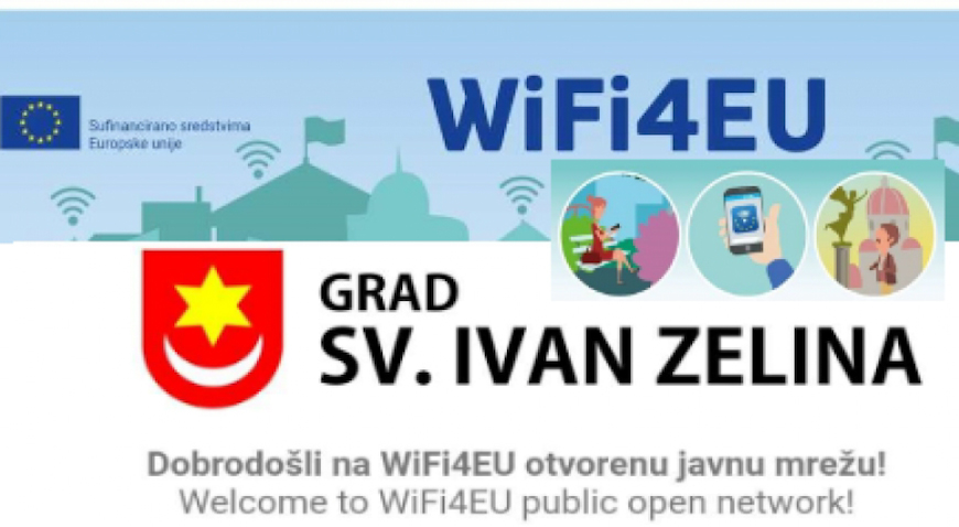 Sveti Ivan Zelina uveo javni besplatni internet