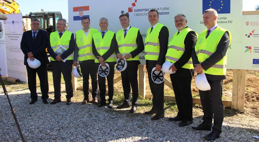 FOTO: U Dugom Selu nastavljena realizacija projekta Regionalni vodoopskrbni sustav – Zagreb Istok