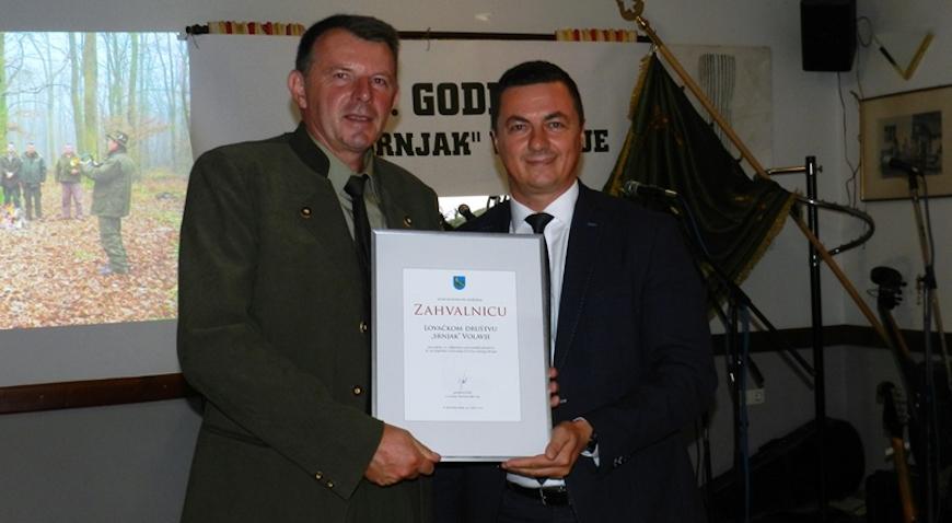 Lovačko društvo Srnjak proslavilo 20. godina rada