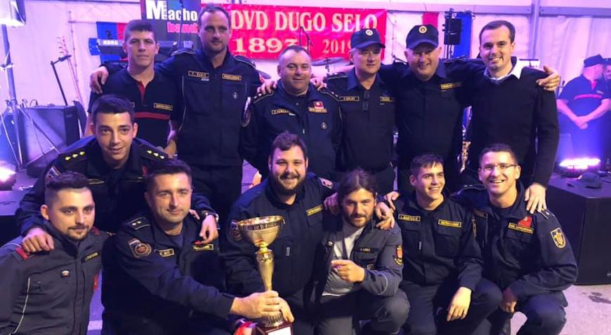 FOTO: DVD Dugo Selo s uspjehom organizirao natjecanje operativnih vatrogasaca