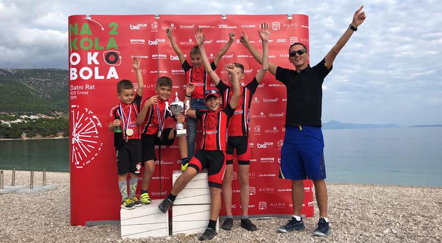 SEZONA ZA PET – Biciklistički klub Dugo Selo ima dva prvaka