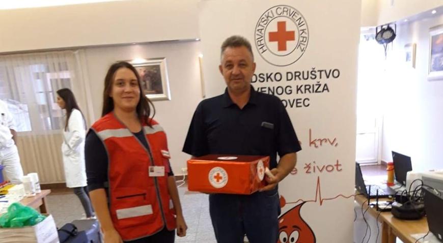 Rekordan odaziv Dubravaca na akciju darivanja krvi